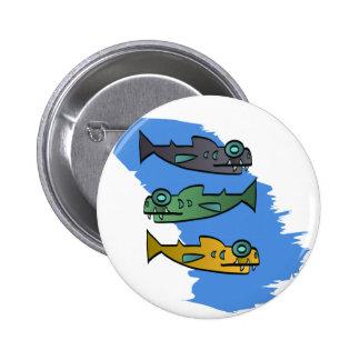Piranhas Pinback Buttons