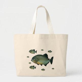 Piranhas Canvas Bag
