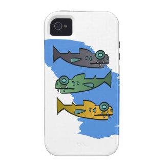 Piranhas Vibe iPhone 4 Covers