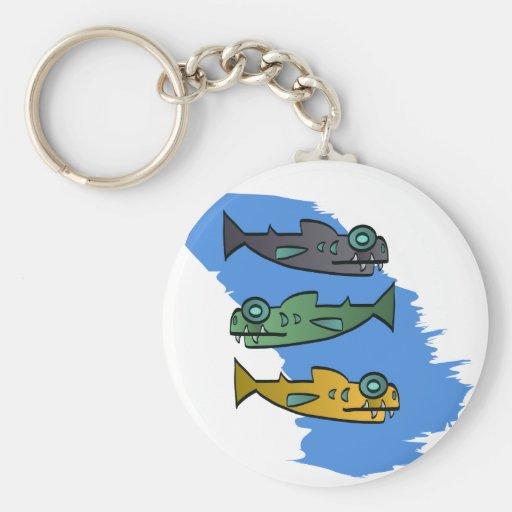 Piranhas Keychain