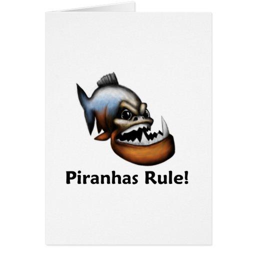 Piranhas Rule! Cards