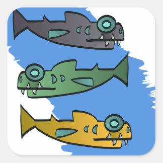 Piranhas Sticker