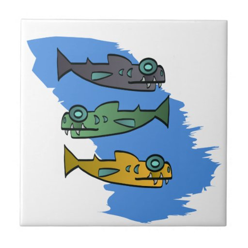 Piranhas Tiles