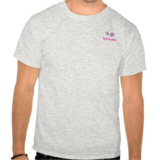 piranhashirt, Pink Piranhas (white) Tee Shirts
