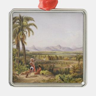 Pirara and Lake Amucu, the Site of El Dorado, from Christmas Ornament