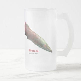 Pirarucu Frosted Glass Mug