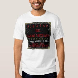 Piratas del Caribe Mexicana Sail Shirts