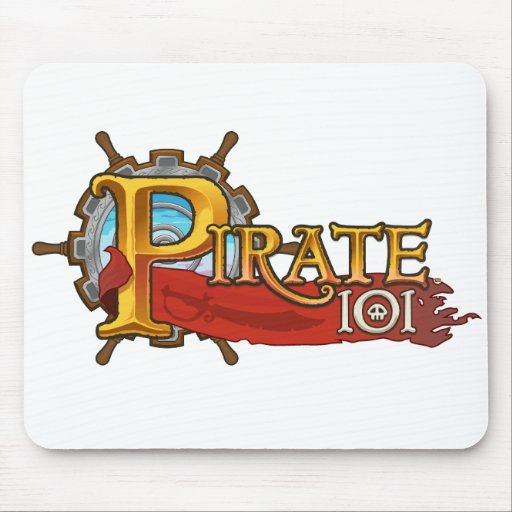 Pirate101 Logo Mouse Pads
