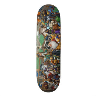 Pirate101 Skull Island Roster Skate Board Decks