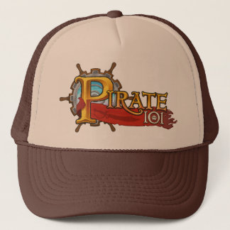 Pirate 101 Logo Trucker Hat