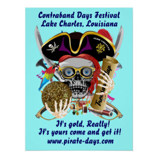 """Pirate 20"""" X 26"""" Customize 35 Back Colors"""