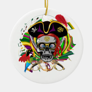 Pirate-2, NEW ORLEANS Christmas Ornament