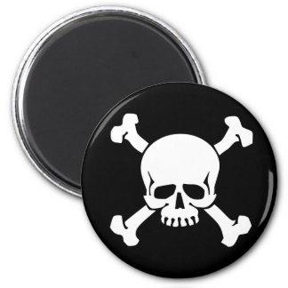 Pirate 6 Cm Round Magnet