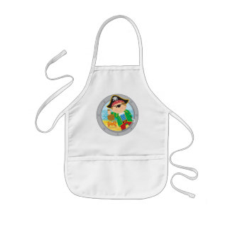 Pirate and Crab Kids Apron