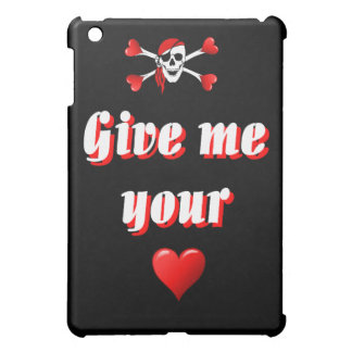 Pirate and hearts case for the iPad mini