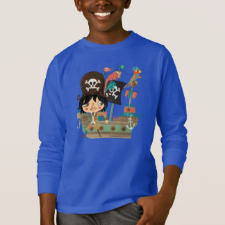 Pirate and Pirate Ship T-Shirt