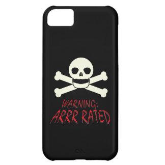 Pirate Arrr Rated iPhone 5C Case