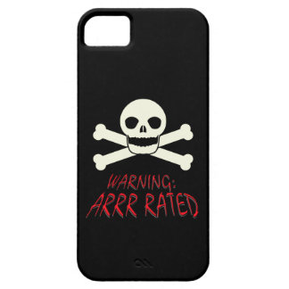Pirate Arrr Rated iPhone 5 Cover