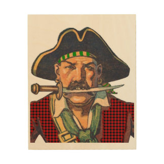 Pirate Art Wood Canvases