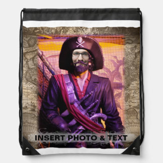 Pirate Bag - Personalize Photo & Text
