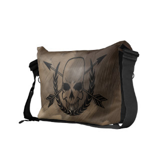 Pirate Bag - Skull and Crossbones Courier Bags