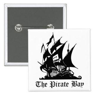 Pirate Bay, Illegal Torrent Internet Piracy Button