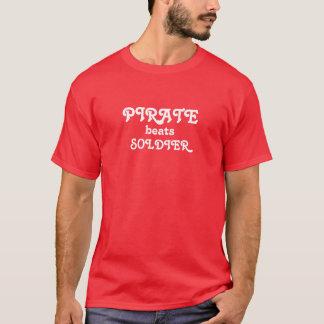 PIRATE BEATS SOLDIER T-Shirt