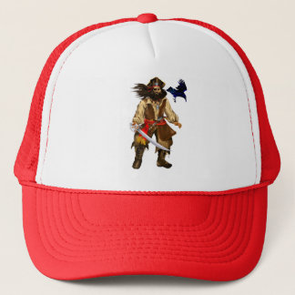 *Pirate-Big and Bad Trucker Hat
