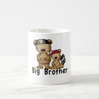 Pirate Big Brother Coffee Mugs