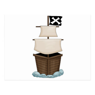 Pirate Birthday Party Post Cards