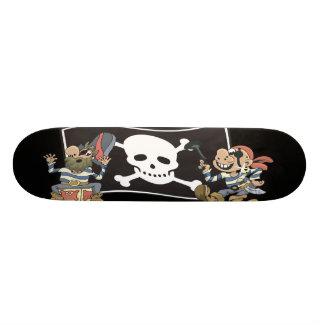 Pirate Blokes Skateboard