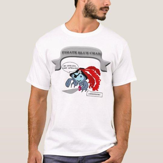 Pirate Blue Crab T-Shirt
