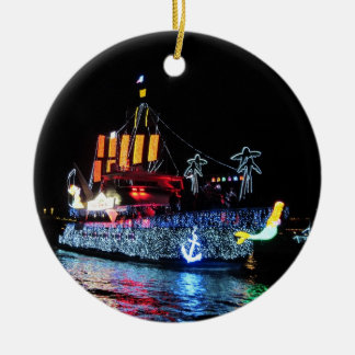 Pirate Boat Ornament