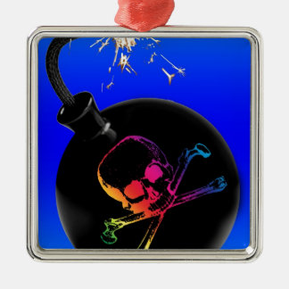 pirate bomb christmas ornament