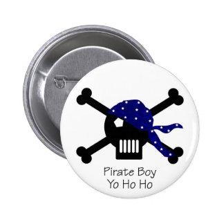 Pirate Boy 6 Cm Round Badge