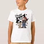 Pirate Boy and Monkey T-shirts