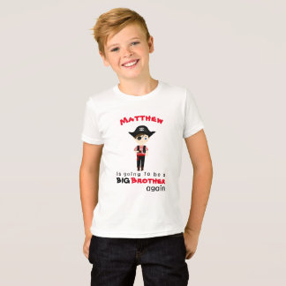 Pirate Boy Big Brother Again T-Shirt