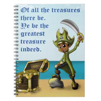 """Pirate Boy"" Notebooks"