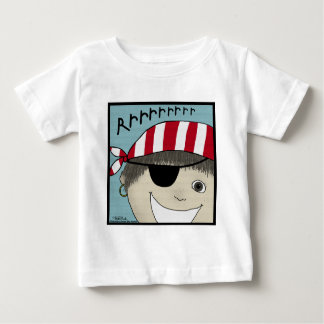 Pirate Boy Rrrrrr Baby T-Shirt