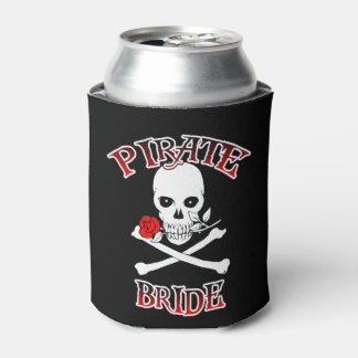 Pirate Bride Can Cooler