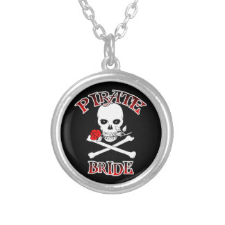 Pirate Bride Silver Plated Necklace
