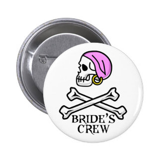 Pirate Bride's Crew Button