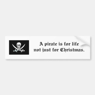 Pirate Bumper Sticker