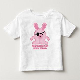 Pirate Bunny Toddler Shirt