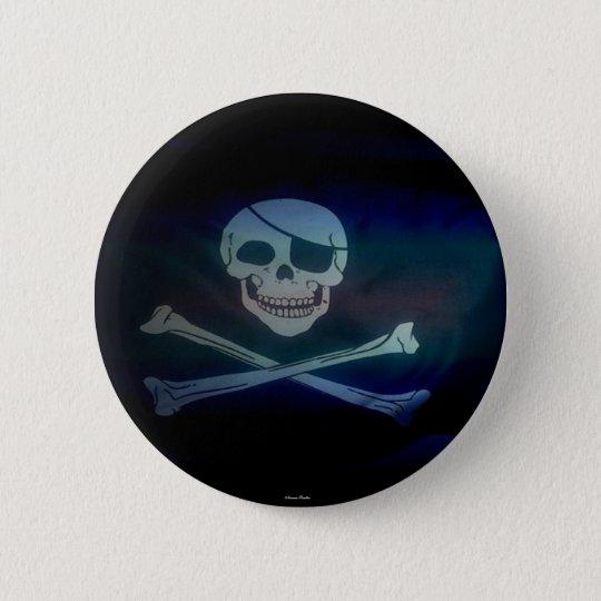 Pirate -Button- 6 Cm Round Badge