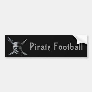 Pirate_by_mo013-741289, Pirate Football Bumper Sticker
