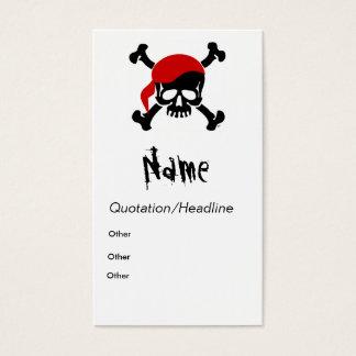 Pirate Calling Card