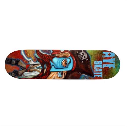 Pirate Captain / Aye Skate / Skateboard