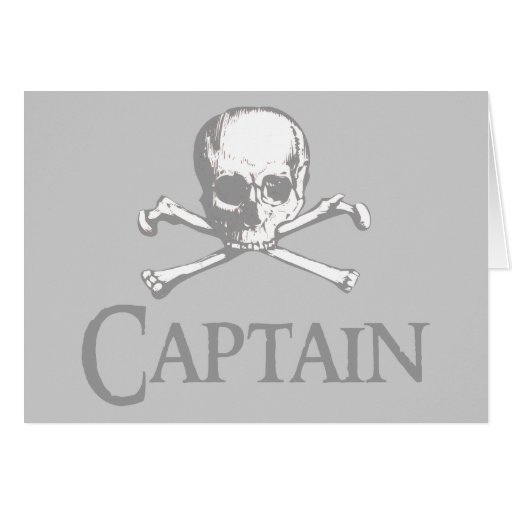 Pirate Captain Greeting Cards