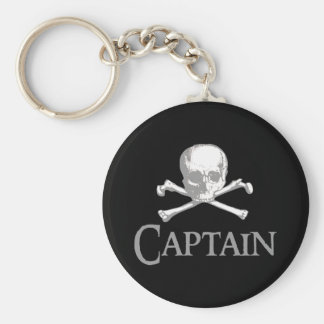 Pirate Captain Key Ring